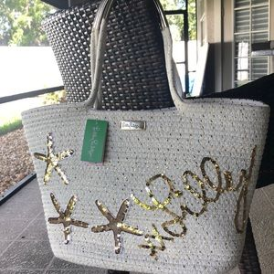 NWT Lily Pulitzer Voyager Tote